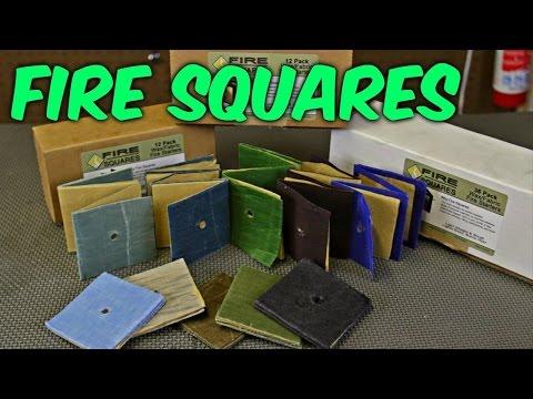 Fire Square Fire Starter - Fan Mail Unboxing