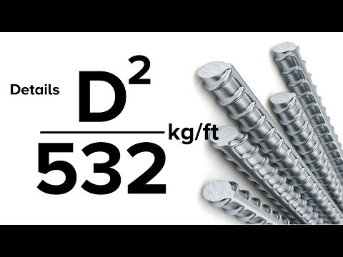 Formula (D²/532 Kg/foot) Details _ Unit Weight Of Steel Bar Formula