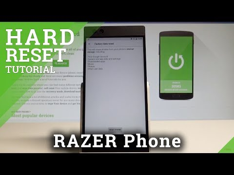 How to Factory Reset RAZER Phone - Deleta Data / Restore Factory |HardReset.Info