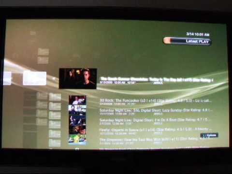 Using PlayOn on PS3