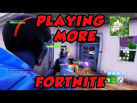Finally Playing Some More Fortnite