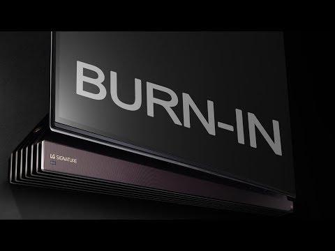 LG OLED Burn-In 2016 Proof