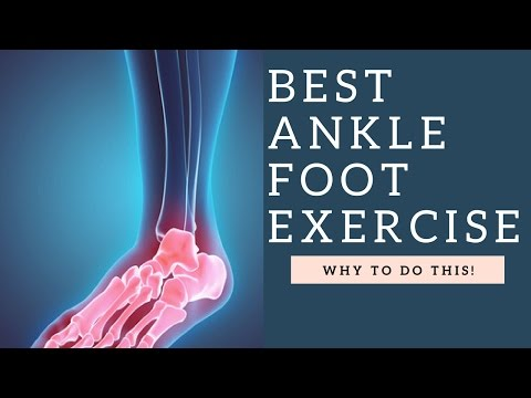 BEST Foot & Ankle Exercise To Strengthen Weak Ankles & Improve Stability / Arch Support