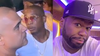 """50 Cent Clowns Ja Rule & Irv Gotti For Being Denied Entry Into A Club... """"I Said To Not Let You In"""""""