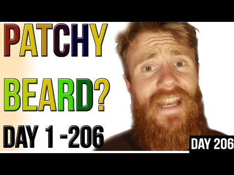 PATCHY BEARD TIP #2 | ADVICE - Day 1 to 206 BEARD GROWTH in Less than 1 MINUTE