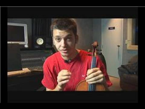 Violin Lessons: The A Harmonic Minor Scale : Violin Lesson: Introducing Open Strings