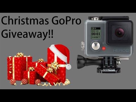 Christmas GoPro Giveaway!!