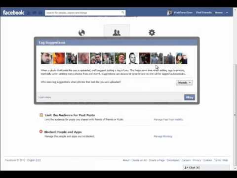 How to Change Facebook Privacy Settings in 2012