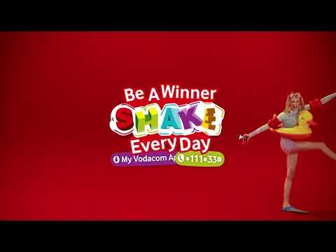 Vodacom #ShakeEveryDay - Swimmer Shake