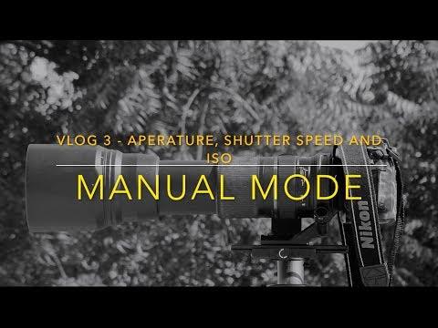 MANUAL MODE - APERTURE, SHUTTER SPEED & ISO basics in KANNADA - VLOG 3