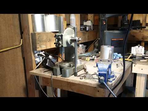 Knife Making Tip. Arbor Press for kydex rivets.