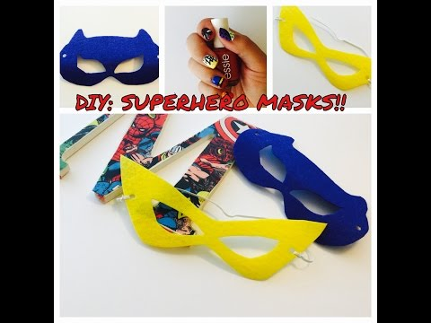 FELT SERIES, Episode 3: SUPERHERO MASKS!