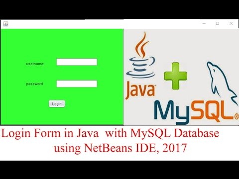 How to Create a Login Form in Java using MySQL Database and NetBeans IDE?[With Source Code]