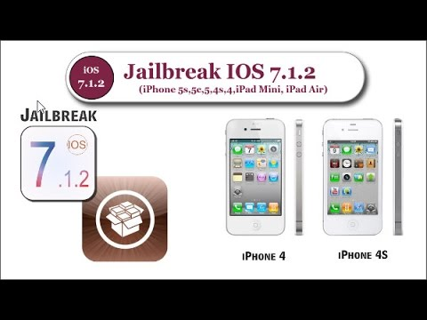 How to Jailbreak iOS 7.1.2 on iPhone 4, 4s with Pangu || របៀប​ហែកគុគ iOS 7.1.2 នៅលើ iPhone 4, 4s