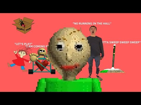 I HATE THIS GAME SO MUCH - Baldi's Basics in Education and Learning