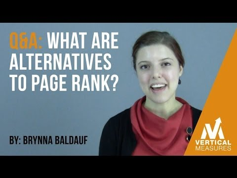 What Are Alternatives to Google's Pagerank?