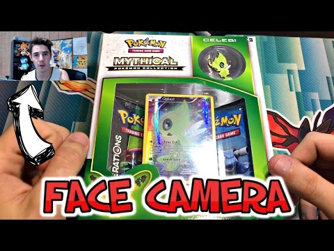 Opening The WORST Pokemon Mythical Celibi Collection Box!!