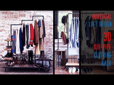 30 DIY Pipe Clothing Rack