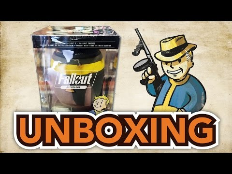 Fallout Anthology (PC) Unboxing !!
