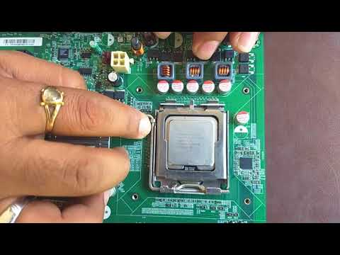 How to install intel CPU on a Motherboard(Sai Computer)
