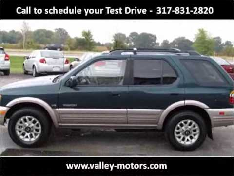 2000 Honda Passport Used Cars Mooresville IN