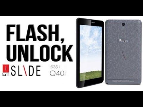 Iball Slide 6351 q40i hang on Logo- How to flash Iball Slide 6351