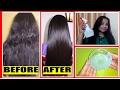 Get Straight Hair Naturally At Home~Hair Straightening Treatment~Homemade Hair Serum-SilkySmoothHair