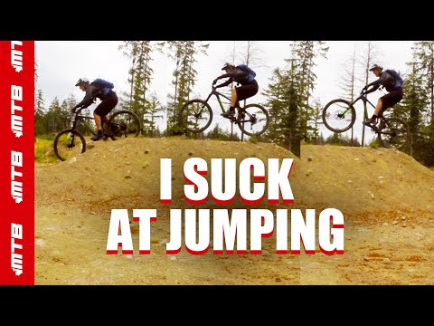 Catching Epic Air Off The Jumps At Bear Mountain Bike Park