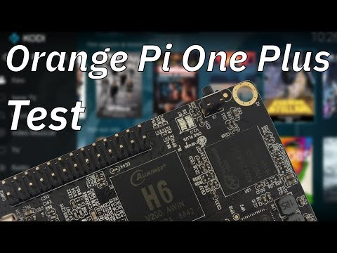 Orange Pi One Plus - TEST COMPLETO - CPU, Gimp, Ethernet, USB, KODI