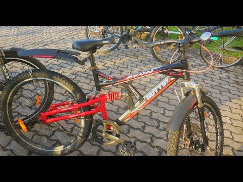 Avon Gutts Bicycle in deep black colour Rs. 6000