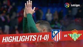 Resumen de Atlético de Madrid vs Real Betis (1-0)