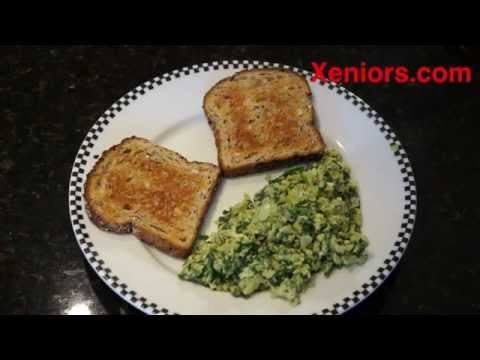 How to Cook an Easy Spinach and Egg Scrambler Breakfast Green Eggs No Ham
