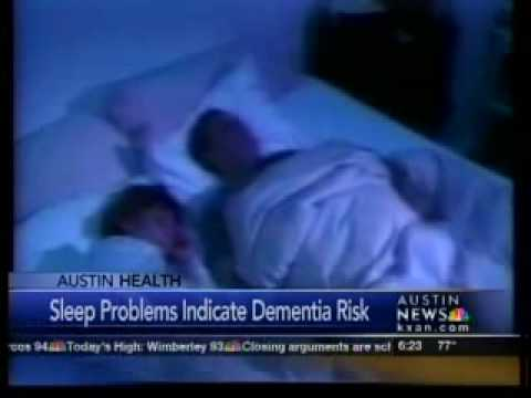 Sleep problems indicate dementia risk