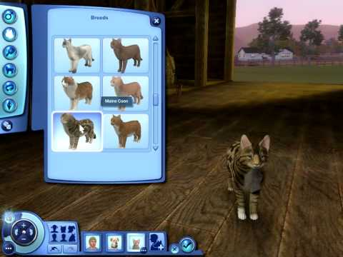 The Sims 3 Pets: Cat Breeds
