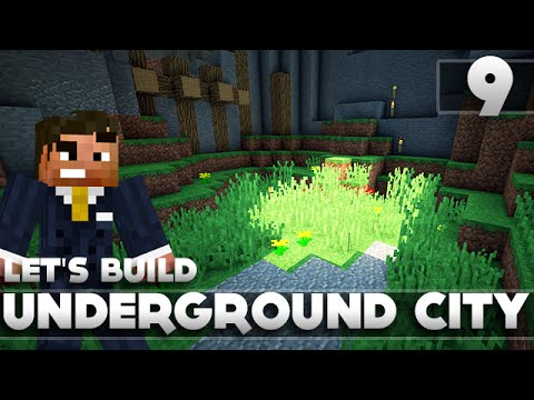 Minecraft - Advanced Underground Base/City Tutorial Let's Build Part 9 Xbox 360/PC/PS3