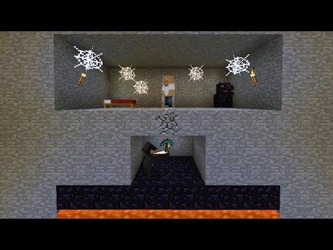 Minecraft | FRIEND OR FOE? | UNDERGROUND BREAK IN! (43)