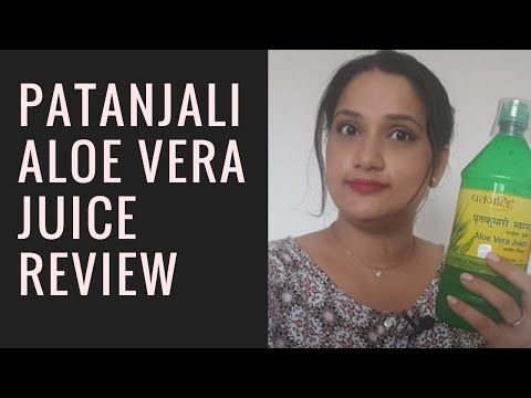 Patanjali Aloe Vera Juice | How to Drink Aloe Vera Juice | Review & Benefits