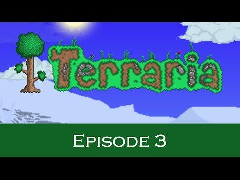 Let's make a bed! - Terraria S1E3 | Let's Play