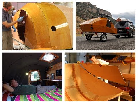 Building the CLC Teardrop Camper