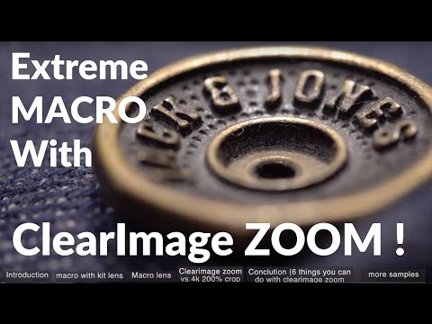 reviewing Clear Image zoom for EXTREME macro with Sony A6500 + 6 tips to when to use clearimage zoom