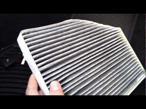 2012 Passat - Cabin Pollen Filter Change Procedure