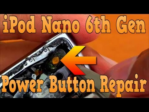 How To Fix iPod Nano 6th Generation Power Button