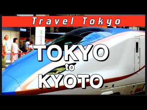 Tokaido Shinkansen Tokyo to Osaka and Kyoto - The Bullet Train!