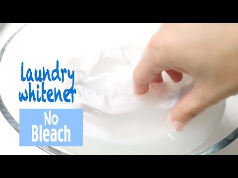 White whitener: how to get stains out of white clothes