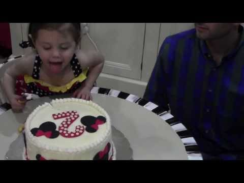 Bentley's 2nd Birthday Party- Minnie Mouse Style