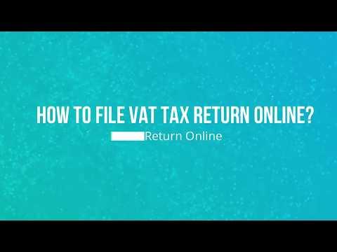 How to file VAT tax return online in Dubai?| Trusted Partner