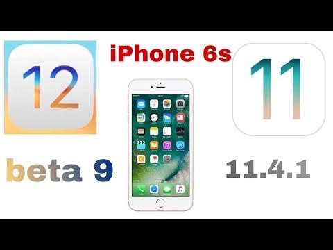 iOS 12 bata 9 vs iOS 11.4.1 quick Speed test On iPhone 6s | iSuperTech