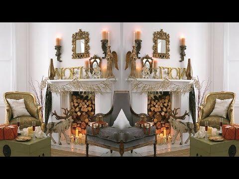 2017 Christmas Mantel Decorations 4