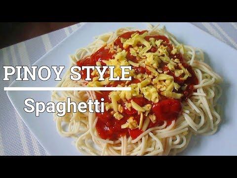 Easy Pinoy Style Spaghetti Recipe