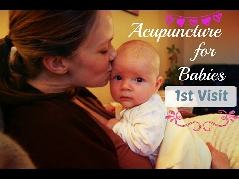 Acupuncture for Babies - Tips for your first appointment